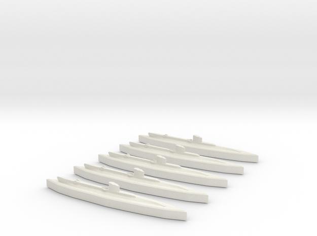 Upholder (British U Class) 1/1800 x5 in White Natural Versatile Plastic