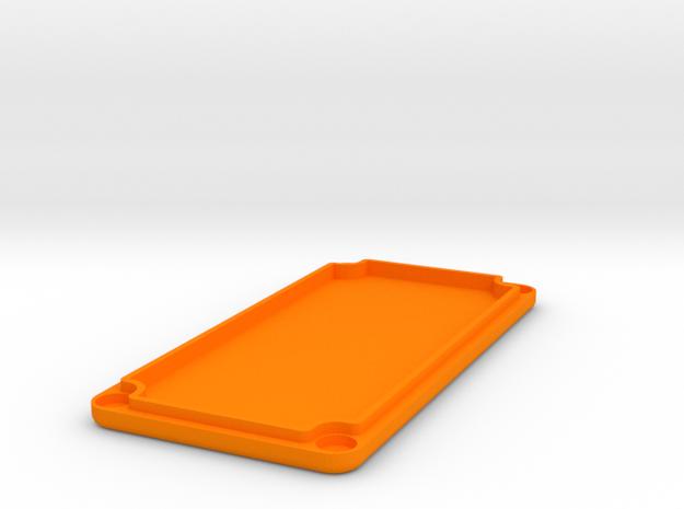 1590G Lid (Goes with No Lean Box) in Orange Processed Versatile Plastic