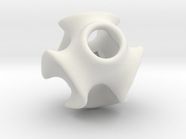 DiaMia - 60mm in White Natural Versatile Plastic