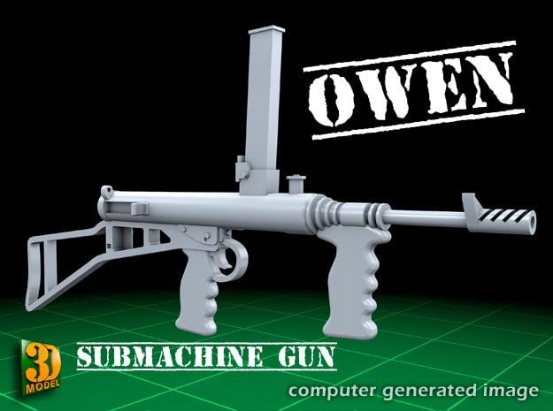 OWEN GUN (32x) in Smooth Fine Detail Plastic