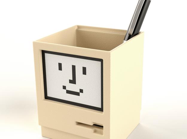 Apple Macintosh pen / card holder