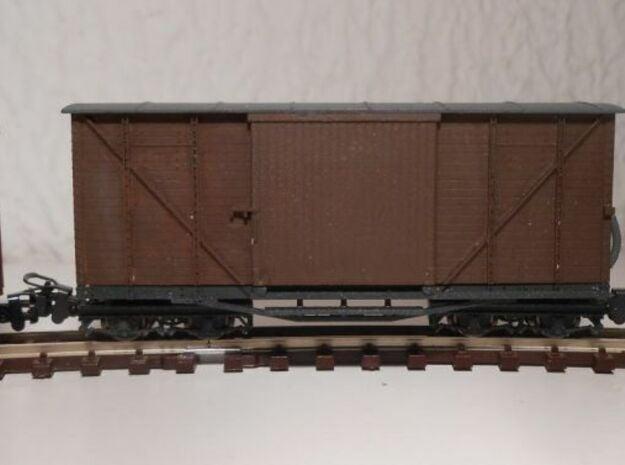 ZB (H0e) - Güterwagen Gw167 in Smooth Fine Detail Plastic