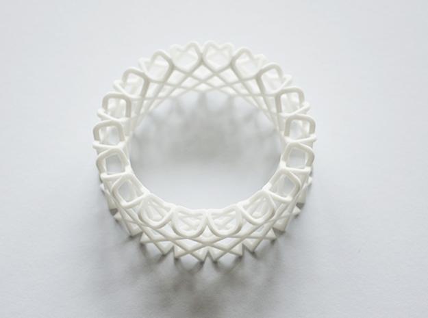 Wire me in White Processed Versatile Plastic