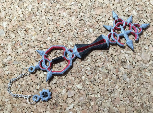 KH Keyblade Bonds Of Flame Pendant