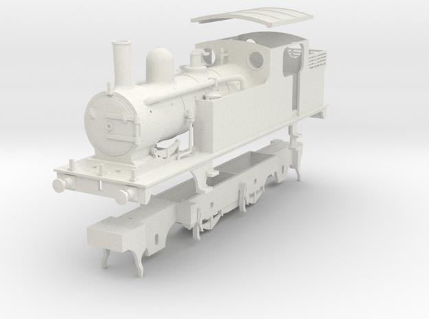 G.E.R. M15 (later LNER F5) class tank loco in White Natural Versatile Plastic