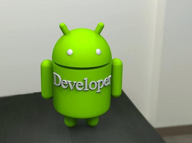 Droid-developer in Full Color Sandstone