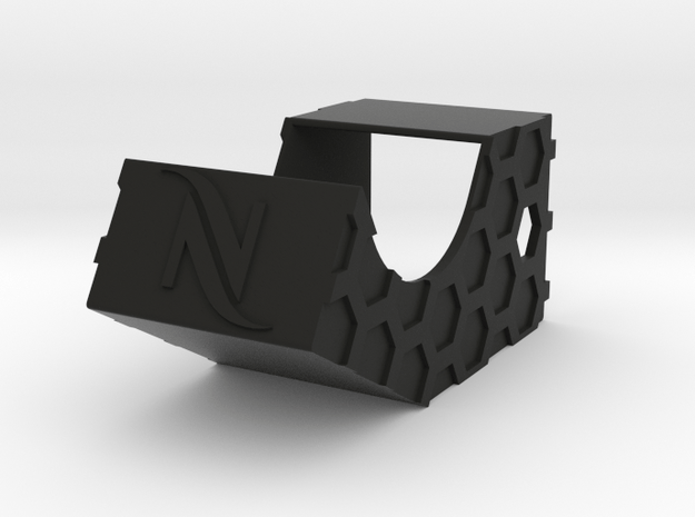 Nespresso Magazin Holder - Left Sided in Black Natural Versatile Plastic