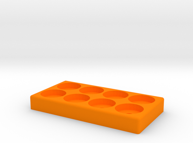 PXS 8 Atty Stand in Orange Processed Versatile Plastic