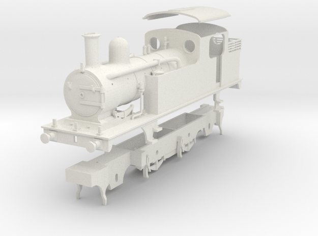 LNER class F5 condensing 2.4.2 tank in White Natural Versatile Plastic