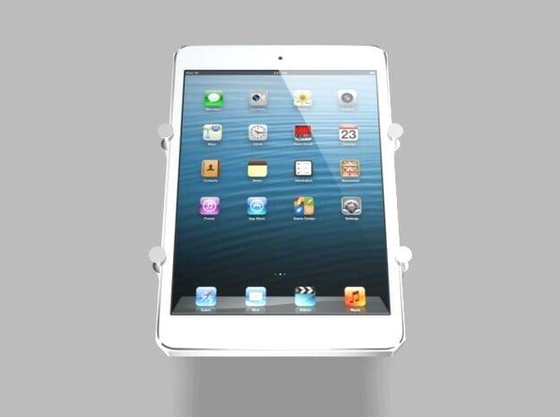 iPad Mini Tablet Universal Tripod Camera Mount in White Natural Versatile Plastic