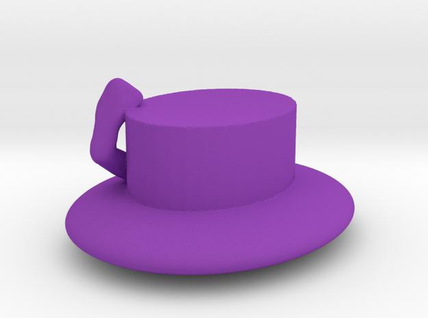 Alyxka Jack Hat in Purple Processed Versatile Plastic