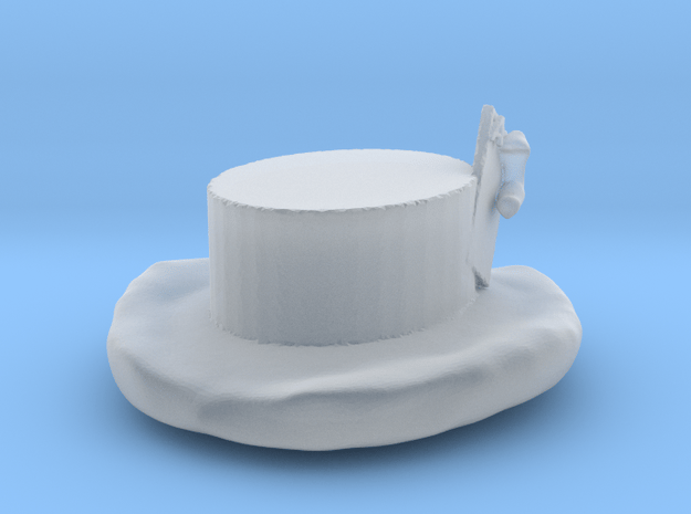Alyxka Card Hat  in Smooth Fine Detail Plastic