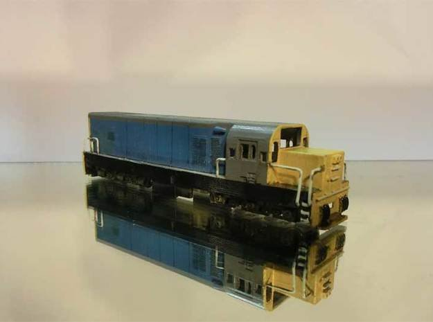 1:120 Scale NZR DAR 822 in Smooth Fine Detail Plastic