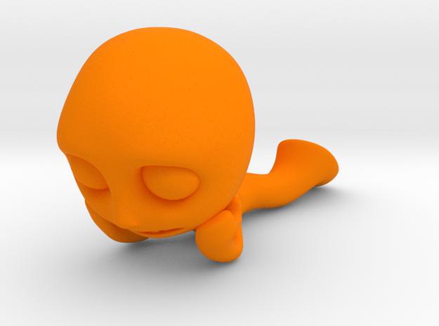 MTI-newfella pose 5 in Orange Processed Versatile Plastic