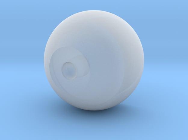Mini Inner eye core in Smoothest Fine Detail Plastic