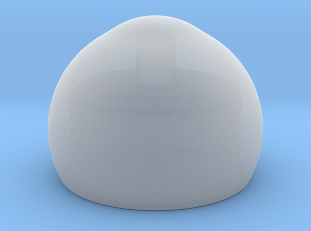 Mini Outer Eye Core in Smoothest Fine Detail Plastic