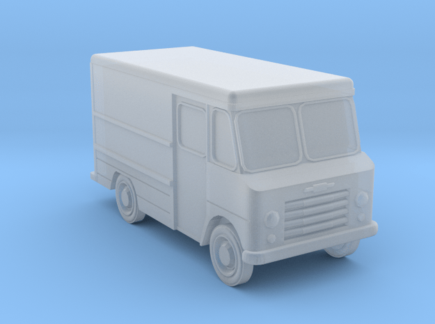 N-Scale 1960s Chevy Stepvan in Smoothest Fine Detail Plastic