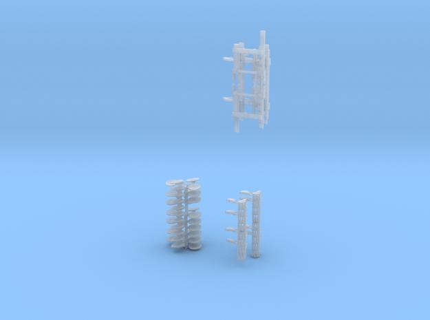1/64 Dominator #4 Baskets in Smooth Fine Detail Plastic