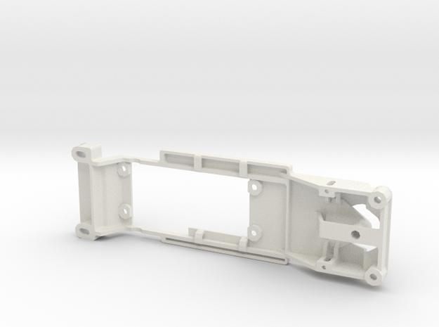 Monogram Dodge Charger, 91mm, slot.it pod in White Natural Versatile Plastic