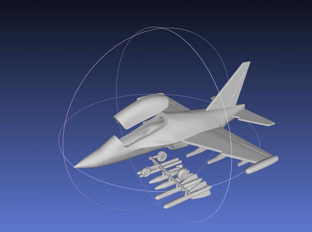 1/144 Yak-130 in White Processed Versatile Plastic