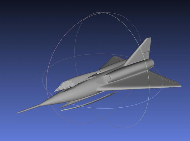 1/144 Convair Sea-Dart in Smooth Fine Detail Plastic