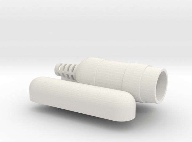 Merr Sonn Pontoon Site in White Natural Versatile Plastic