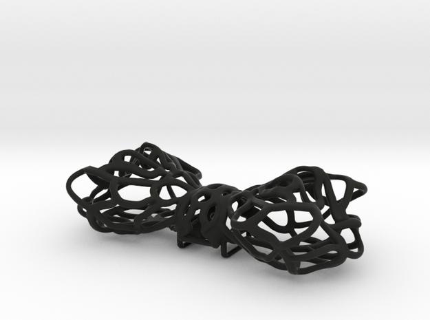 Papillon -Bow tie in Black Natural Versatile Plastic