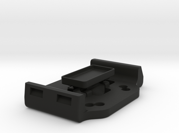 Cradle Adapter V2 for Garmin Zumo 660 in Black Natural Versatile Plastic
