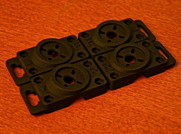 AerialMOB Replacement Part Tip in Black Natural Versatile Plastic