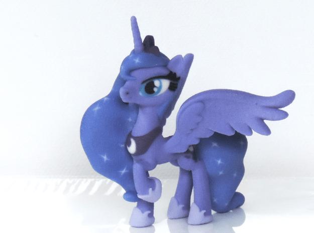 Princess Luna in Full Color Sandstone
