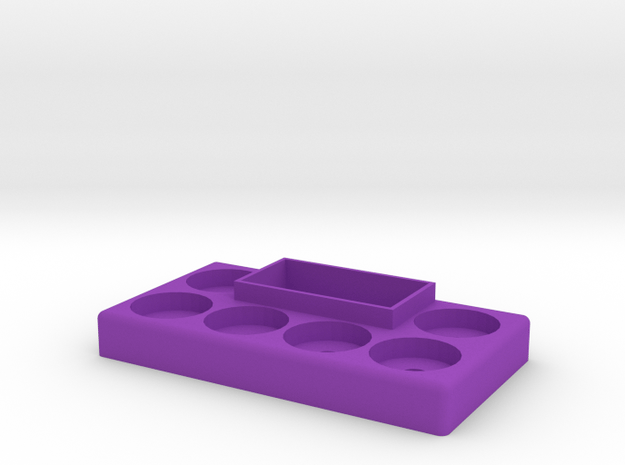 PXS 6 Atty And G Box Stand in Purple Processed Versatile Plastic
