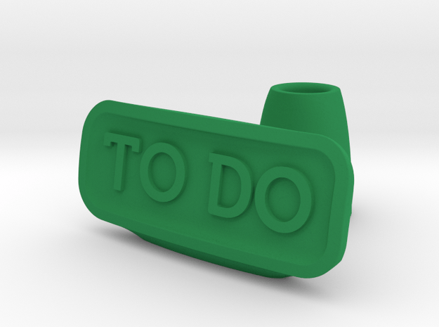 To Do list holder in Green Processed Versatile Plastic