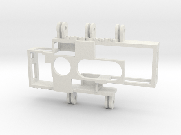 Adjustable IA SuperHero 3D Rig in White Natural Versatile Plastic