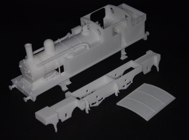 G.E.R M15 class (later LNER F4) 2.4.2 tank loco in White Natural Versatile Plastic