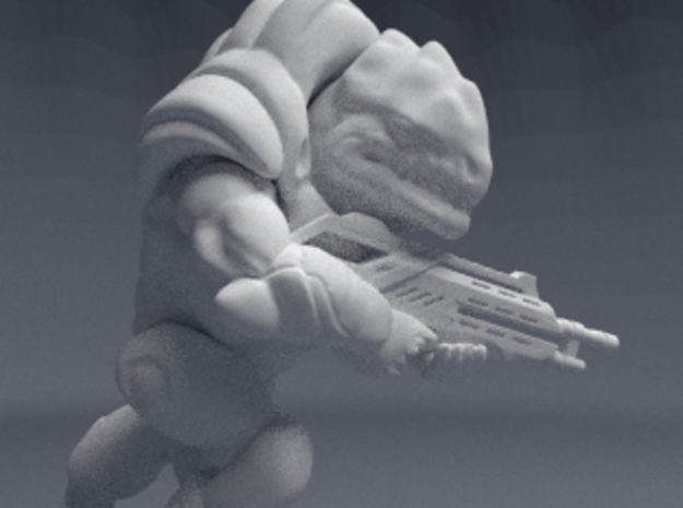 Hulk Fauxgan, 28mm in White Natural Versatile Plastic