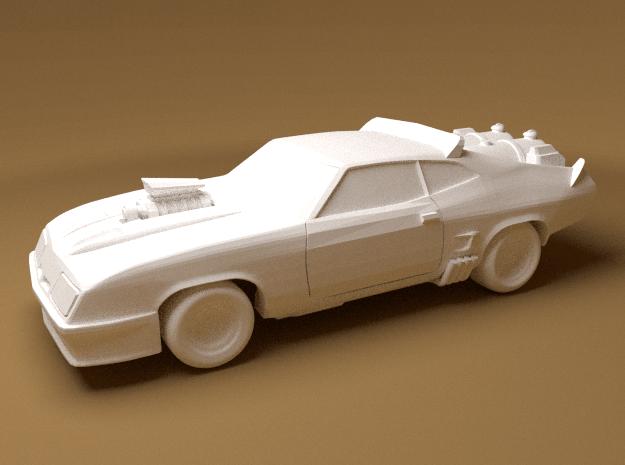 Ford Falcon, 1/64 Scale in White Natural Versatile Plastic