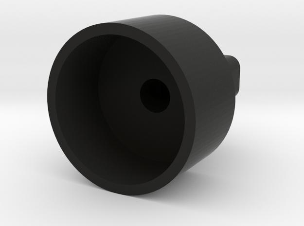 1252 Shock Rod End- Raborn Style in Black Natural Versatile Plastic
