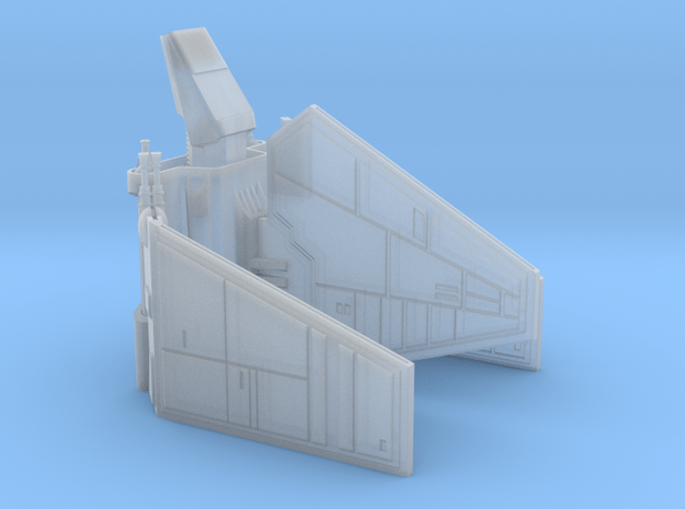 Imperial Shuttle Small in Smooth Fine Detail Plastic