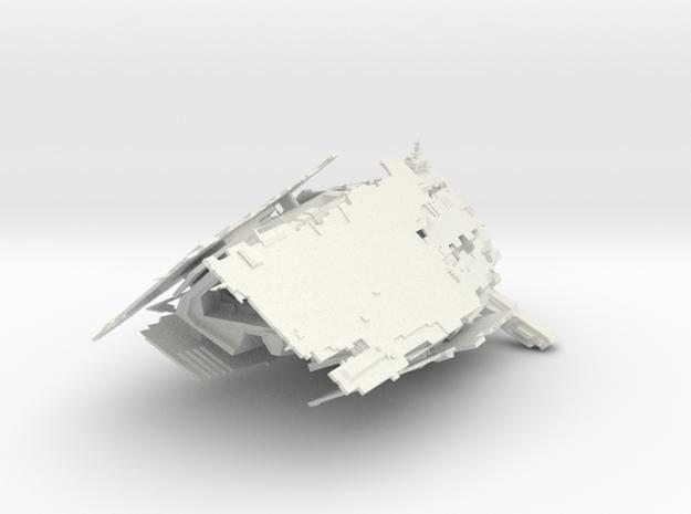Wildwolf in White Natural Versatile Plastic