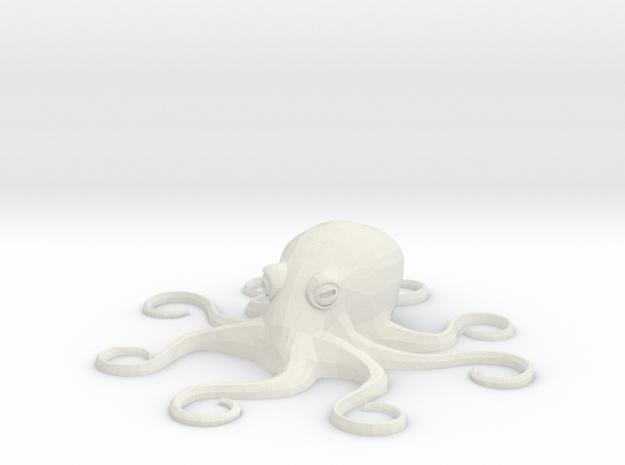 Octopus Mini - Toys in White Natural Versatile Plastic