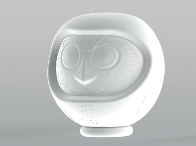 Daruma Doll 001 in Natural Sandstone