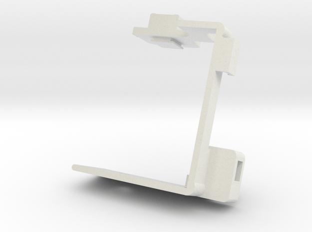 Panasonic GH4 Half Cage HDMI Support in White Natural Versatile Plastic