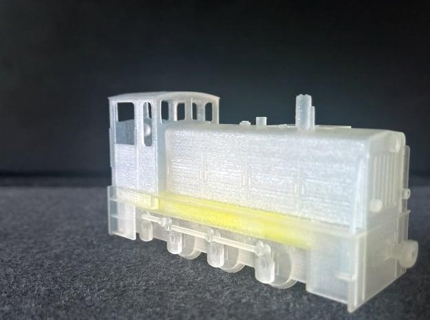 NS 4 Deutsche Reichsbahn DR H0e in Smooth Fine Detail Plastic
