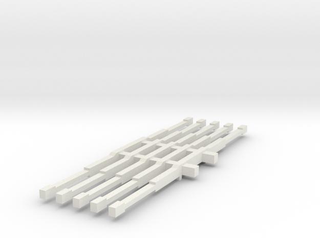 1/64 4wd light bars in White Natural Versatile Plastic