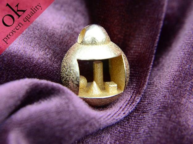 primitives in Polished Gold Steel