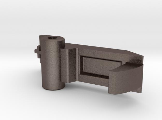 Panasonic SD2501 ZB2502 breadmaker dispenser latch in Polished Bronzed Silver Steel