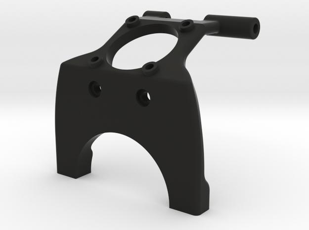 22 mm Saddle Brace with fan mount in Black Natural Versatile Plastic