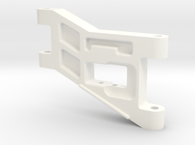 1/5 Scale Front Arm in White Processed Versatile Plastic