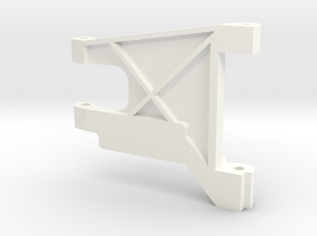 1/5 Scale Rear Arm, LH in White Processed Versatile Plastic