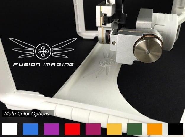 DJI Phantom 3 Gimbal Guard in White Processed Versatile Plastic